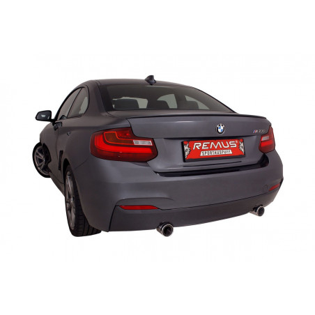REMUS Wolf Inside Racing Exhaust BMW 235i